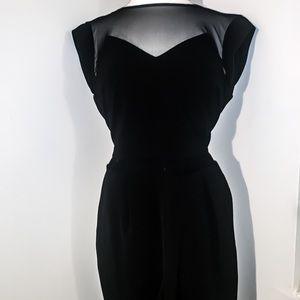 Express Semi-Formal Black Pant Jumpsuit